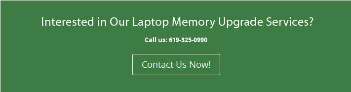 Laptop Memory Upgrades San Diego