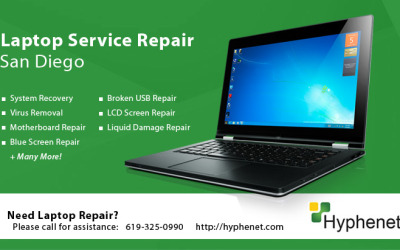 Laptop Motherboard Replacement San Diego