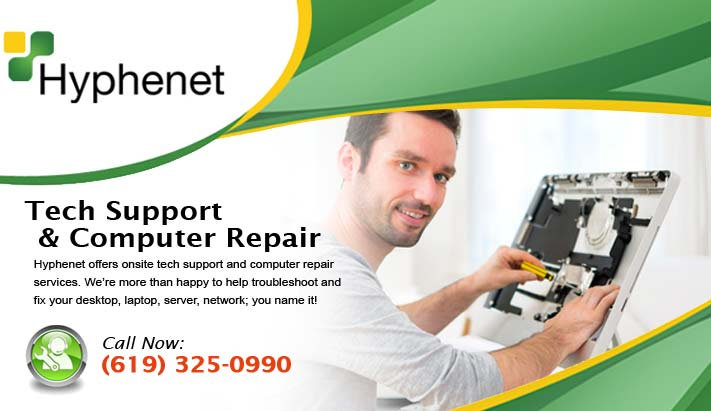 tech support computer repair san diego