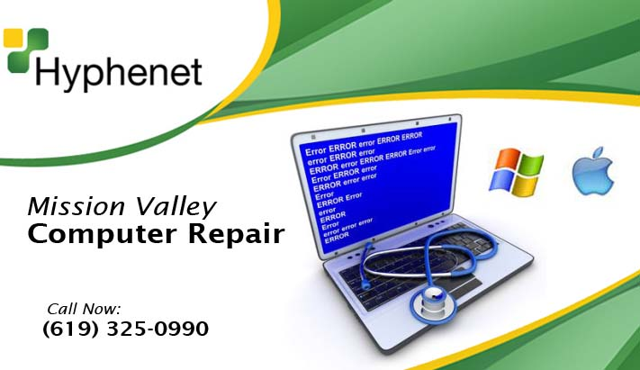 Mission Valley computer repair services