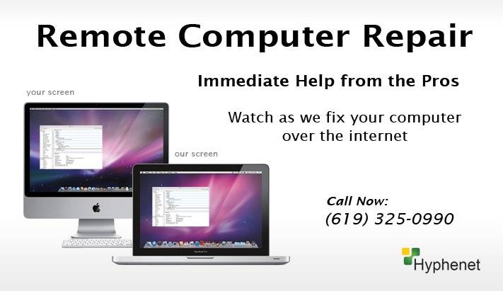 Remote Computer Repair San Diego