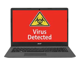 acer laptop virus removal services