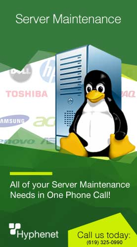 server maintenance SanDiego