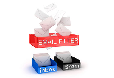 how to set spam filter on iin et