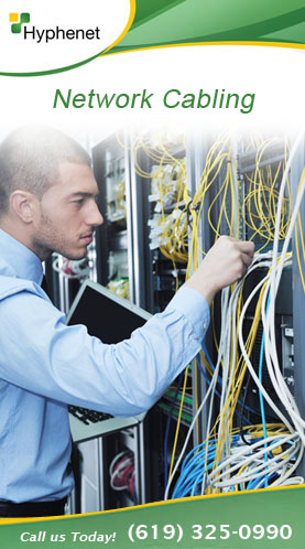 Network Cabling San Diego Services
