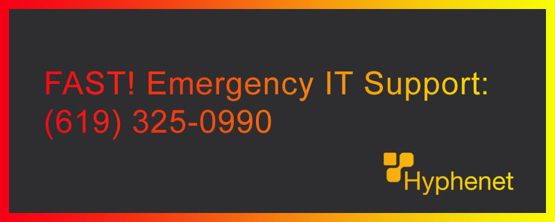 emergency it services San DIego