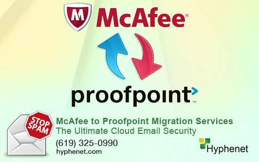Proofpoint Essentials Migration Services