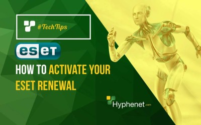 How to Activate your ESET Renewal