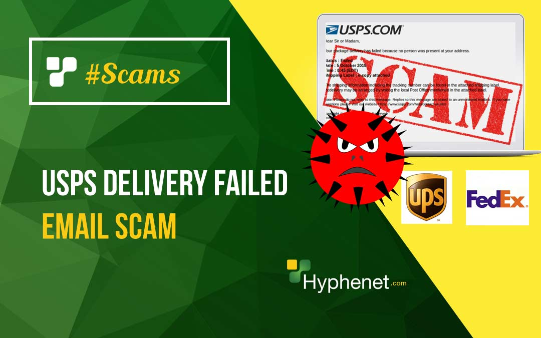 USPS Delivery Failed – Email Scam