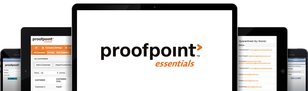 proofpoint essentials screenshots