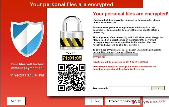 keyranger virus screenshot