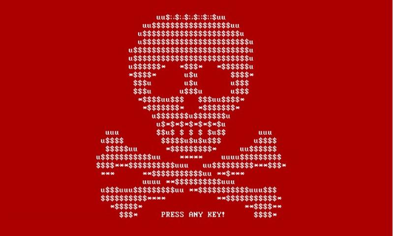 petya ransomware screenshot