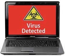 asus virus removal San Diego