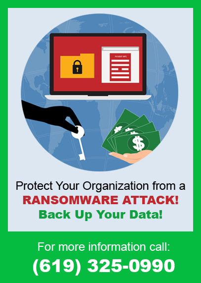 ransomware prevention San Diego