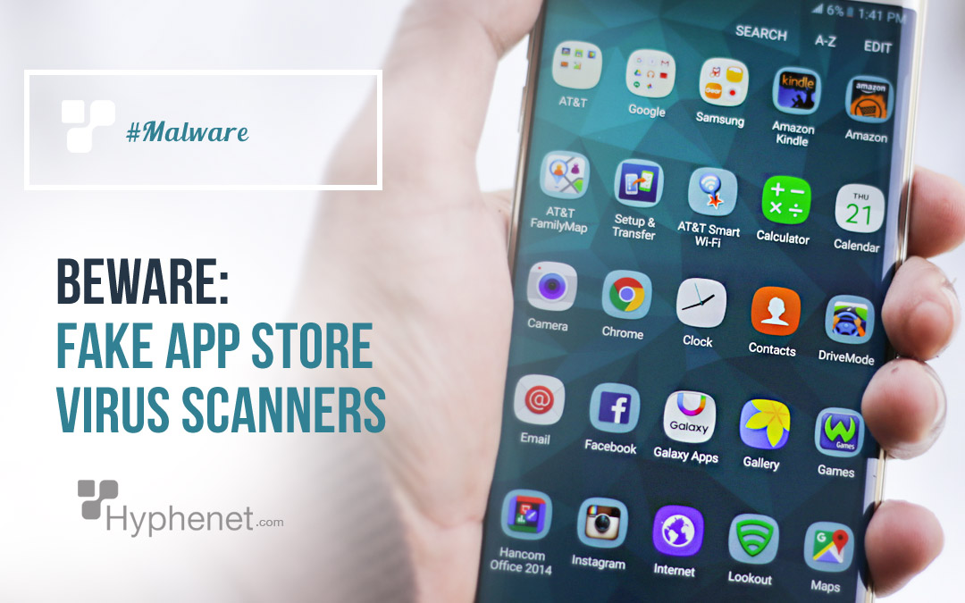 Fake App Store Virus Scanners