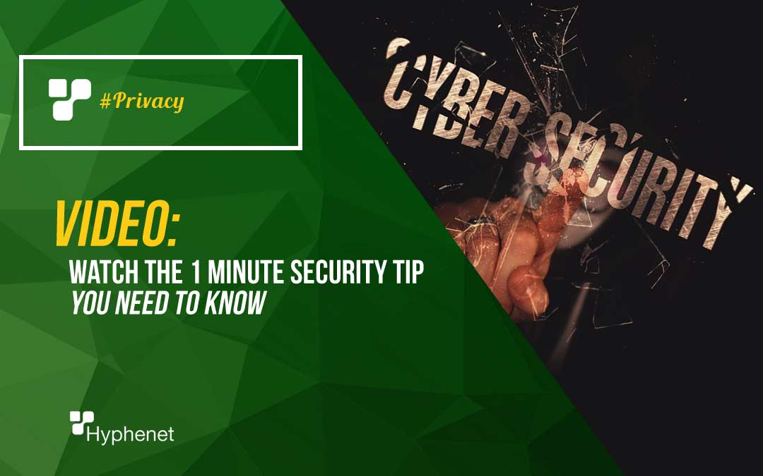 VIDEO: Security Tips – Privacy Awareness