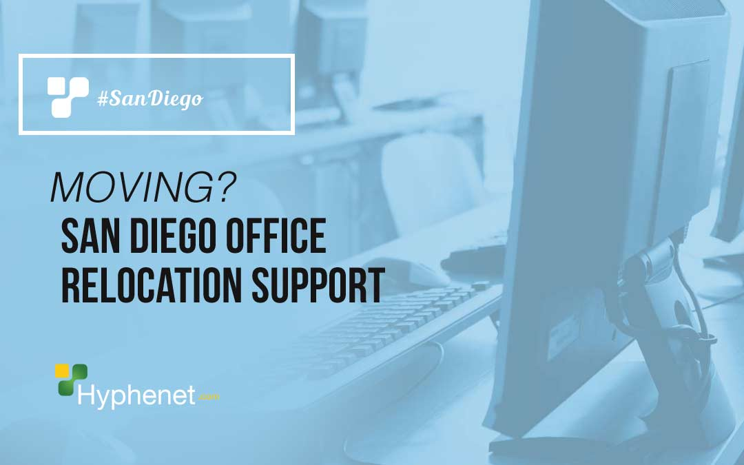 San Diego Office Computer IT Relocation Support Services