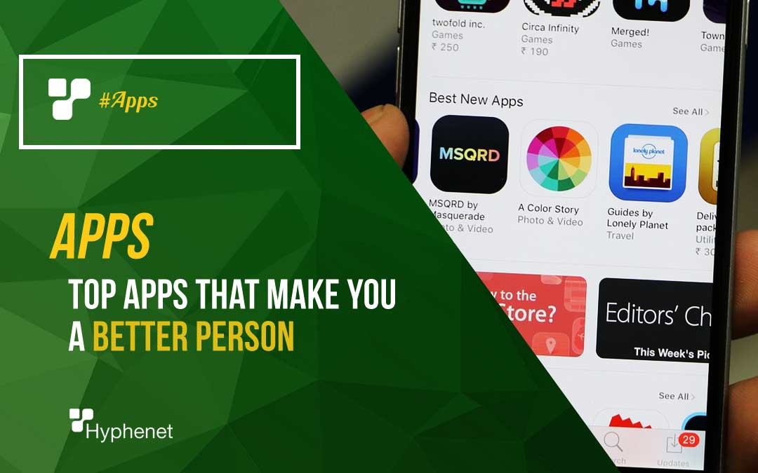 apps that make you a better person