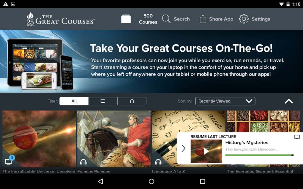 the great courses