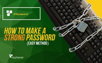 How to Make a STRONG Password (EASY method)