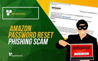 Amazon Password Reset Phishing Scam
