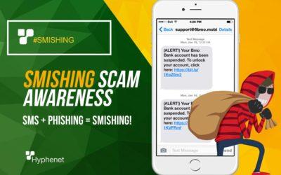 SMishing Scam Awareness