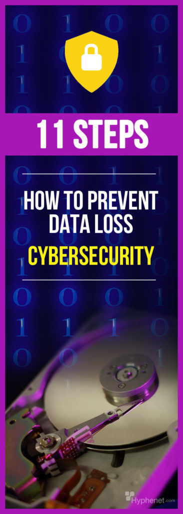 HOW TO PREVENT DATA LOSS