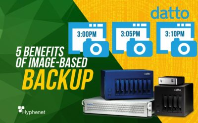 5 Benefits of Image-Based Backup – Datto