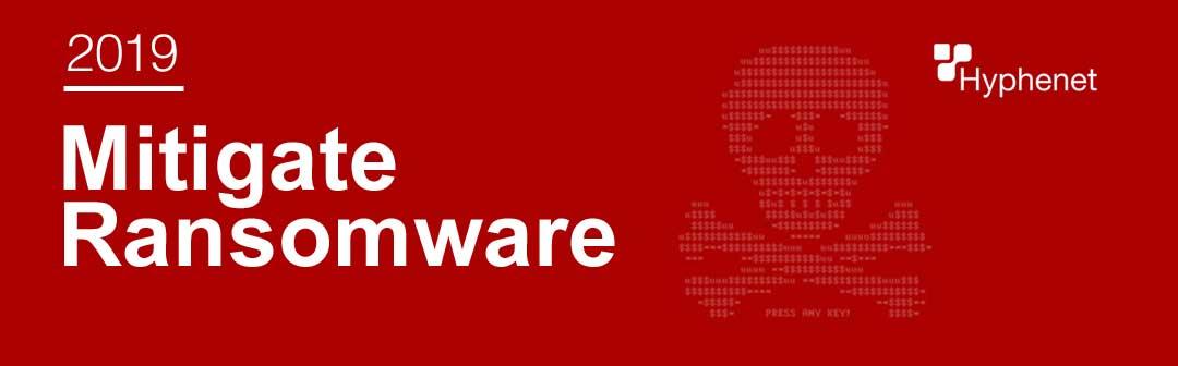 mitigate ransomware