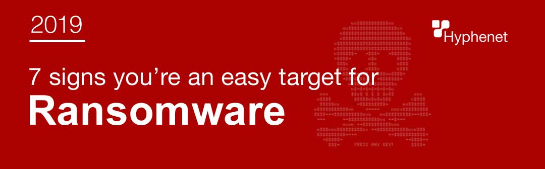 easy target for ransomware?