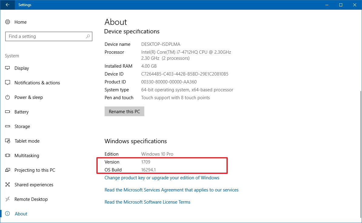 windows 10 settings ransomware